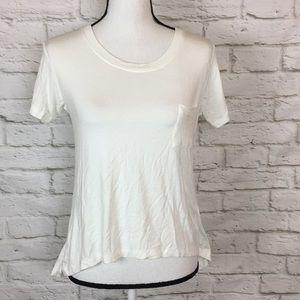 TopShop SS Hi Lo T-Shirt Small 4